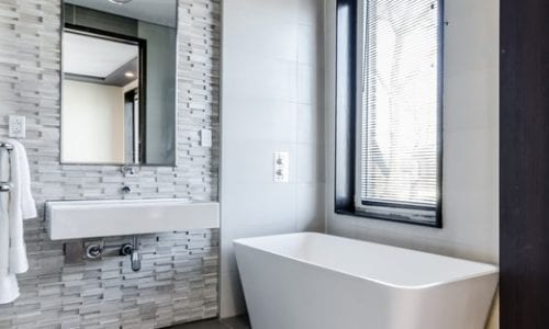How To Keep An All-White Bathroom Clean